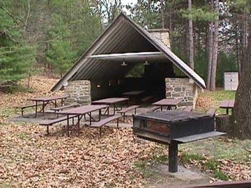 Mill Bluff Shelter