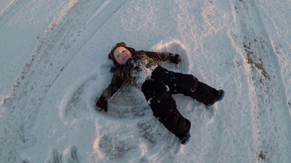 Necedah Snow angels