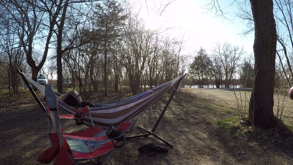hammock after hike