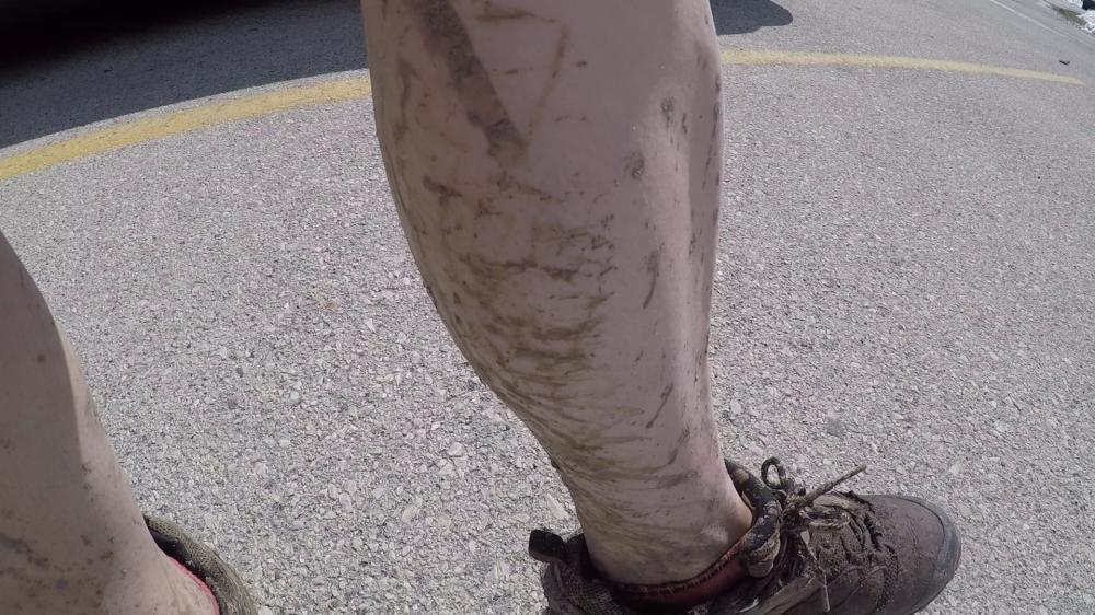 mud leg