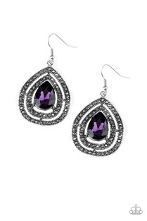 purple earring 2