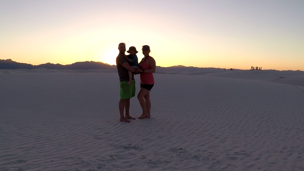 White Sands Fam Pic
